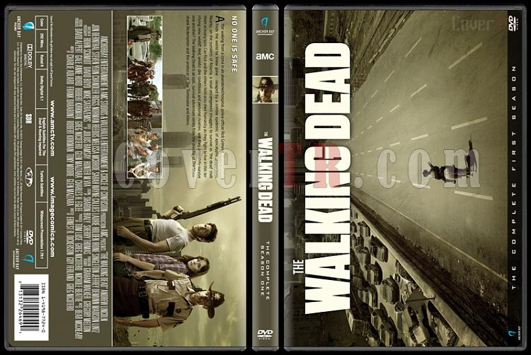 The Walking Dead  (Seasons 1-7) - Custom Dvd Cover Set - English [2010-?]-1jpg