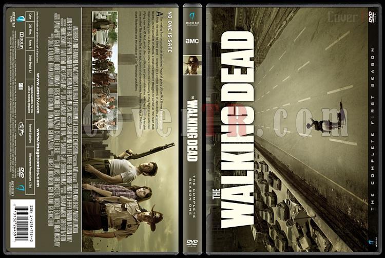 The Walking Dead  (Seasons 1-7) - Custom Dvd Cover Set - English [2010-?]-1jpg