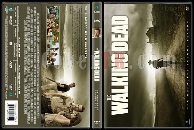 The Walking Dead  (Seasons 1-7) - Custom Dvd Cover Set - English [2010-?]-2jpg
