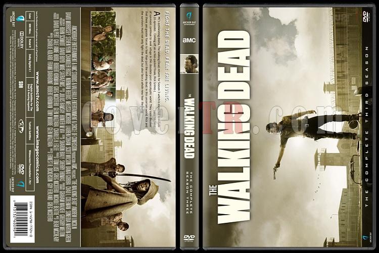 The Walking Dead  (Seasons 1-7) - Custom Dvd Cover Set - English [2010-?]-3jpg
