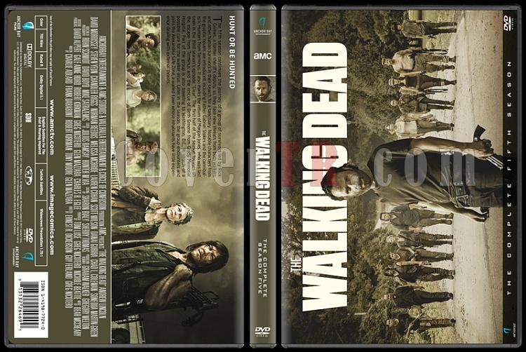 The Walking Dead  (Seasons 1-7) - Custom Dvd Cover Set - English [2010-?]-5jpg