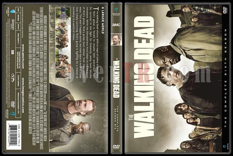 The Walking Dead  (Seasons 1-7) - Custom Dvd Cover Set - English [2010-?]-6jpg