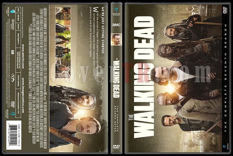 The Walking Dead  (Seasons 1-7) - Custom Dvd Cover Set - English [2010-?]-7jpg