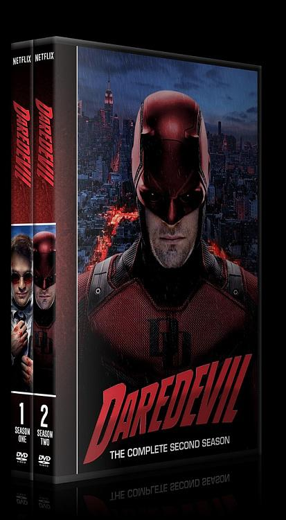 Daredevil (Seasons 1-2) - Custom Dvd Cover Set - English [2015-?]-alljpg
