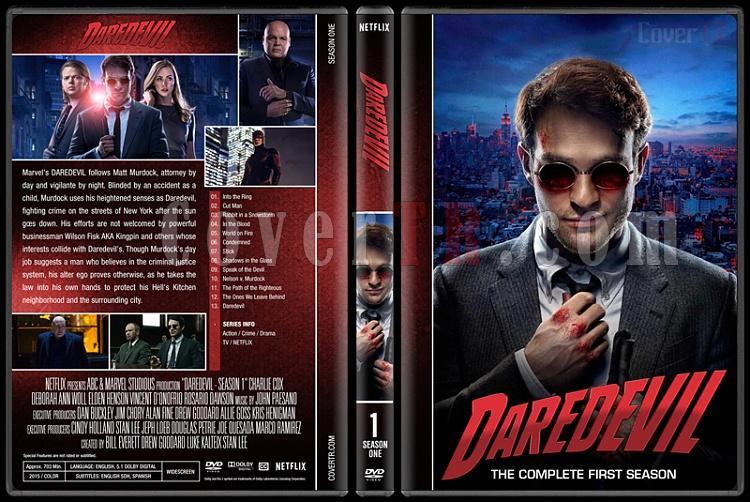 Daredevil (Seasons 1-2) - Custom Dvd Cover Set - English [2015-?]-1jpg
