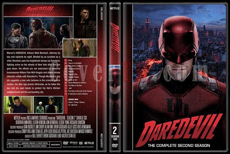 Daredevil (Seasons 1-2) - Custom Dvd Cover Set - English [2015-?]-2jpg
