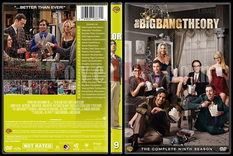 The Big Bang Theory (Seasons 1-9) - Custom Dvd Cover Set - English [2007-?]-9jpg