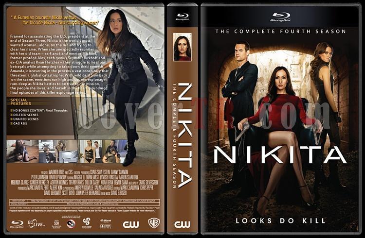 Nikita (Seasons 1-4) - Custom Dvd Cover Set - English [2010-2013]-thin66jpg