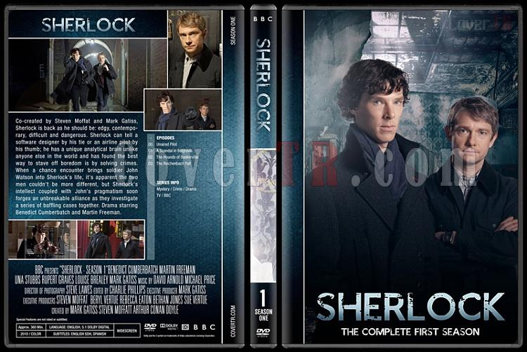 Sherlock (Seasons 1-4) - Custom Dvd Cover Set - English [2010-?]-1jpg