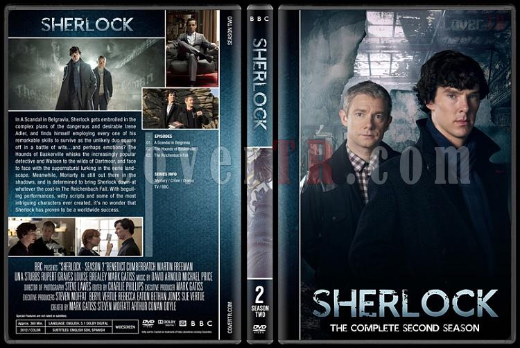 Sherlock (Seasons 1-4) - Custom Dvd Cover Set - English [2010-?]-2jpg