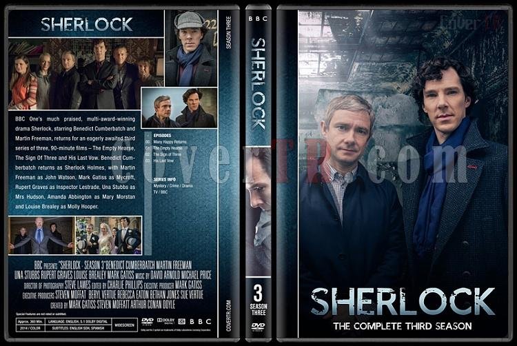 Sherlock (Seasons 1-4) - Custom Dvd Cover Set - English [2010-?]-3jpg