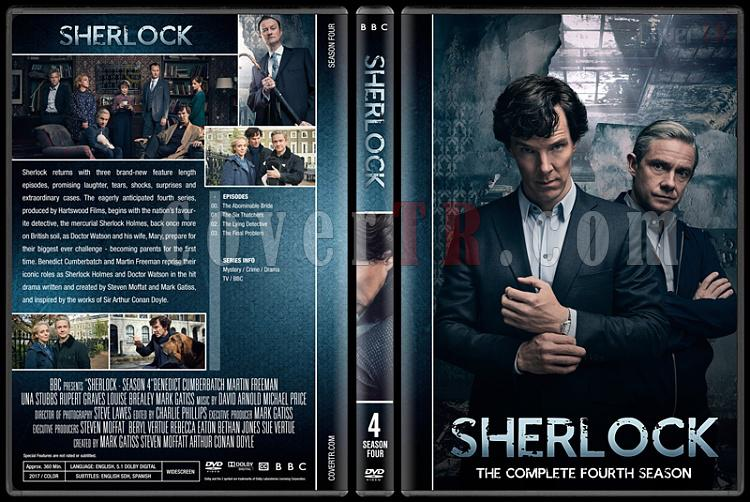 Sherlock (Seasons 1-4) - Custom Dvd Cover Set - English [2010-?]-4jpg