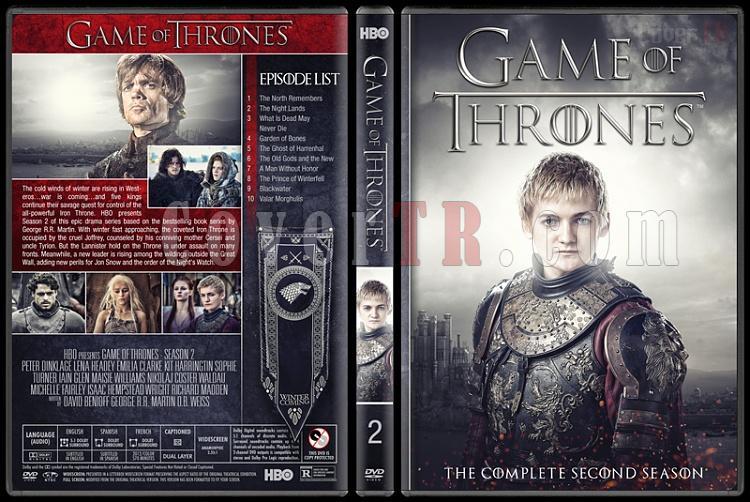 Game of Thrones (Seasons 1-8) - Custom Dvd Cover Set - English [2011-2018]-2jpg