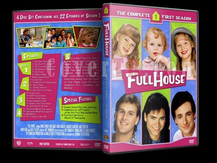 Full House (Season 1-8) - Custom Dvd Cover Set - Enlish [1987-1995]-1jpg