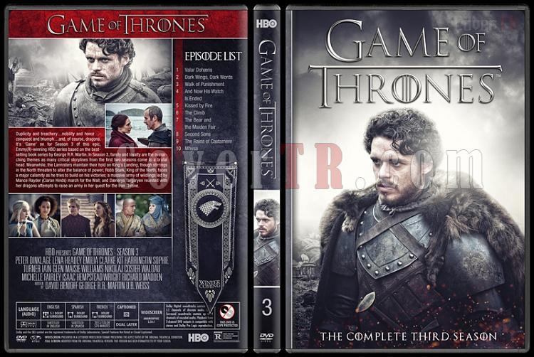 Game of Thrones (Seasons 1-8) - Custom Dvd Cover Set - English [2011-2018]-3jpg