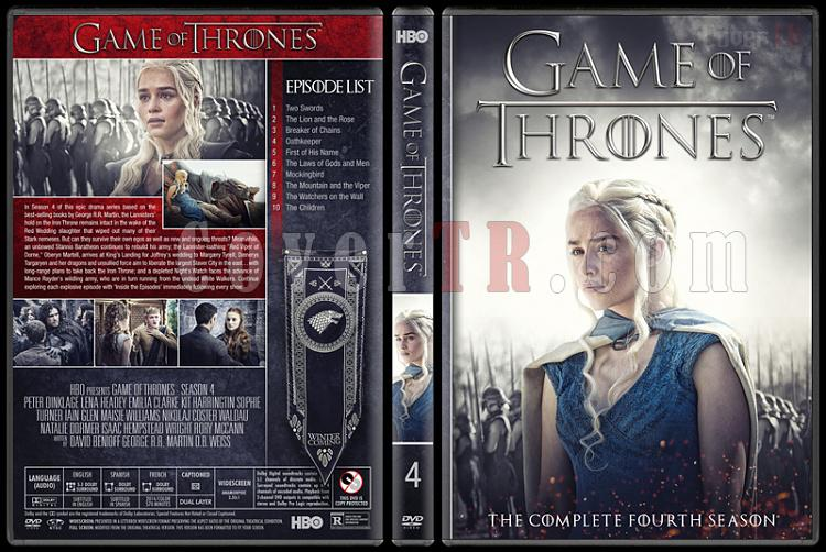 Game of Thrones (Seasons 1-8) - Custom Dvd Cover Set - English [2011-2018]-4jpg