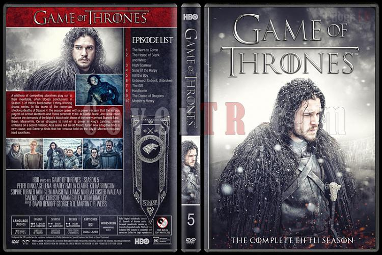 Game of Thrones (Seasons 1-7) - Custom Dvd Cover Set - English [2011-?]-5jpg
