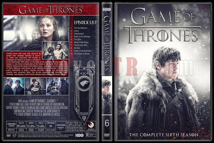 Game of Thrones (Seasons 1-8) - Custom Dvd Cover Set - English [2011-2018]-6jpg