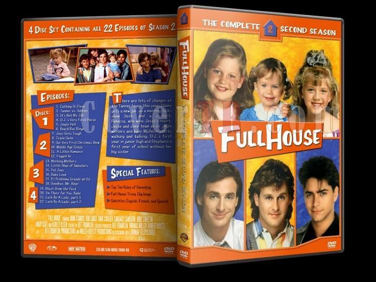 Full House (Season 1-8) - Custom Dvd Cover Set - Enlish [1987-1995]-2jpg