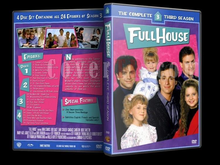 Full House (Season 1-8) - Custom Dvd Cover Set - Enlish [1987-1995]-3jpg