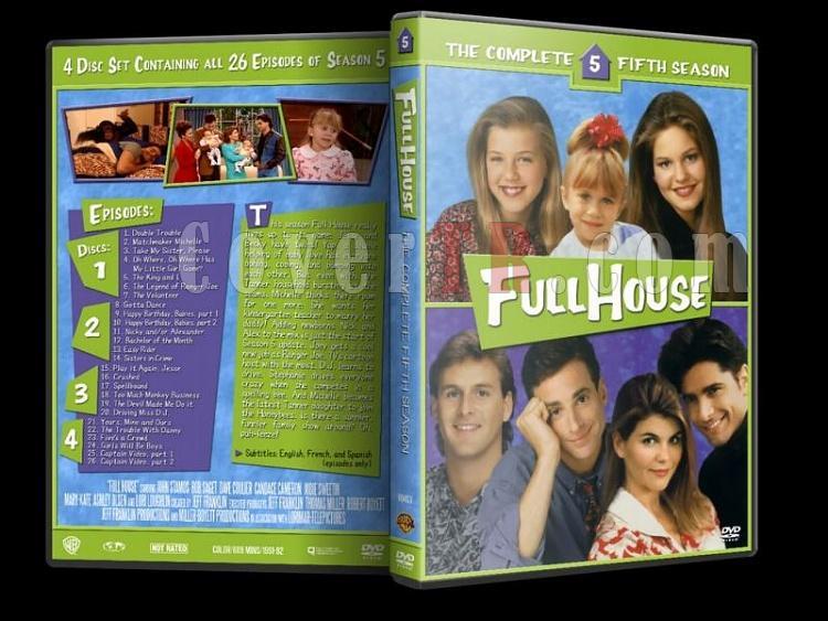 Full House (Season 1-8) - Custom Dvd Cover Set - Enlish [1987-1995]-5jpg