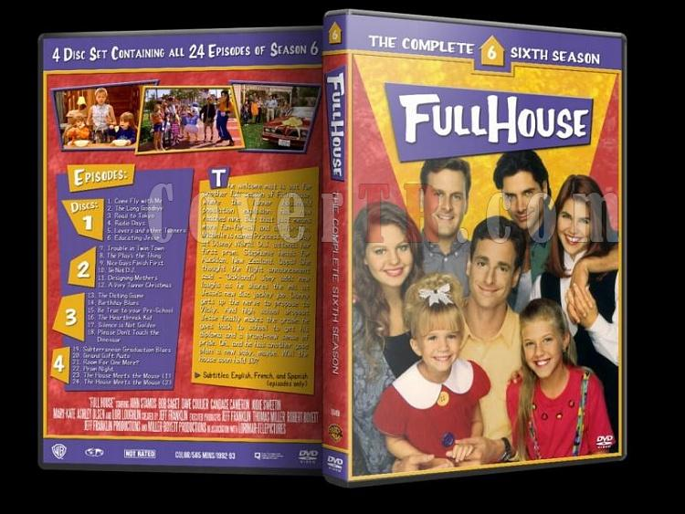 Full House (Season 1-8) - Custom Dvd Cover Set - Enlish [1987-1995]-6jpg