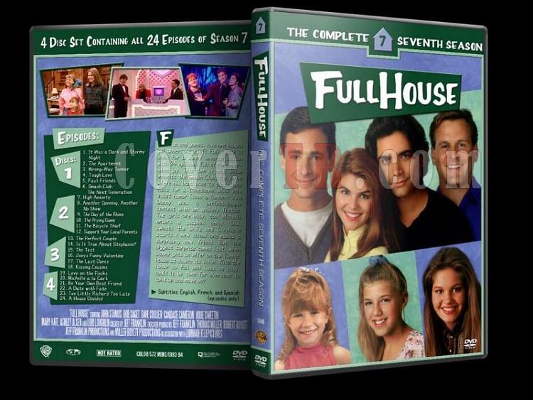 Full House (Season 1-8) - Custom Dvd Cover Set - Enlish [1987-1995]-7jpg