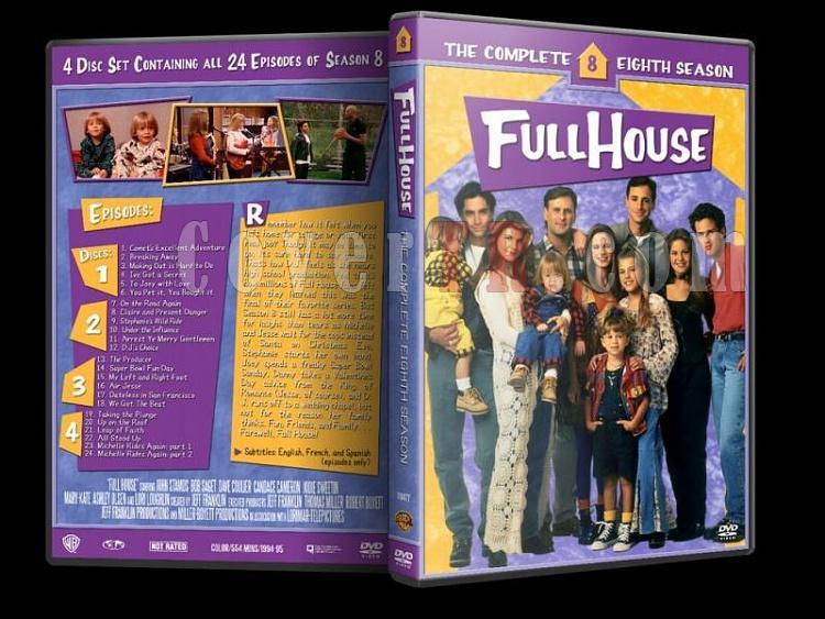 Full House (Season 1-8) - Custom Dvd Cover Set - Enlish [1987-1995]-8jpg