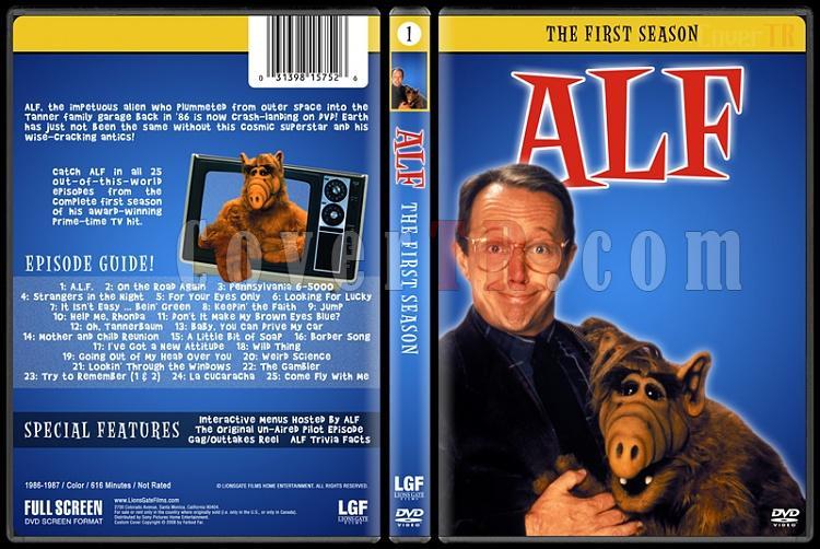 Alf (Seasons 1-4) - Custom Dvd Cover Set - English [1986-1990]-1jpg