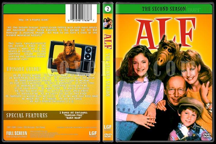 Alf (Seasons 1-4) - Custom Dvd Cover Set - English [1986-1990]-2jpg