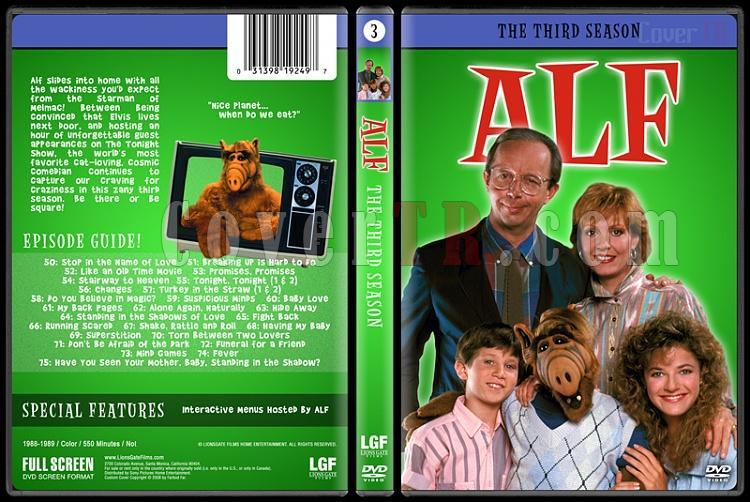 Alf (Seasons 1-4) - Custom Dvd Cover Set - English [1986-1990]-3jpg