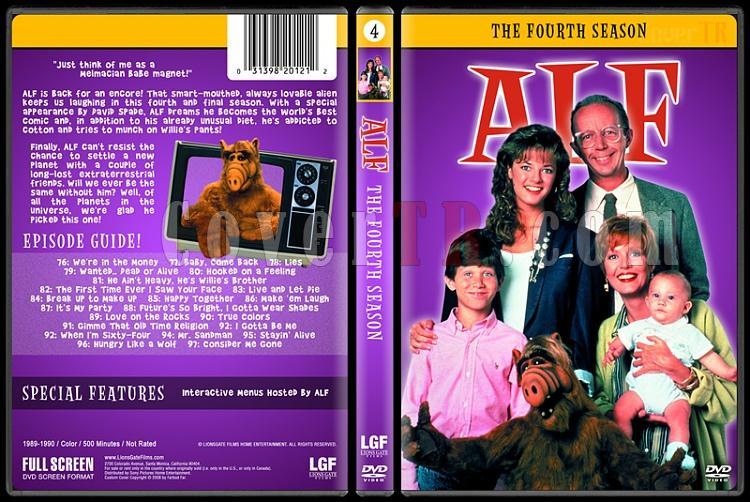 Alf (Seasons 1-4) - Custom Dvd Cover Set - English [1986-1990]-4jpg