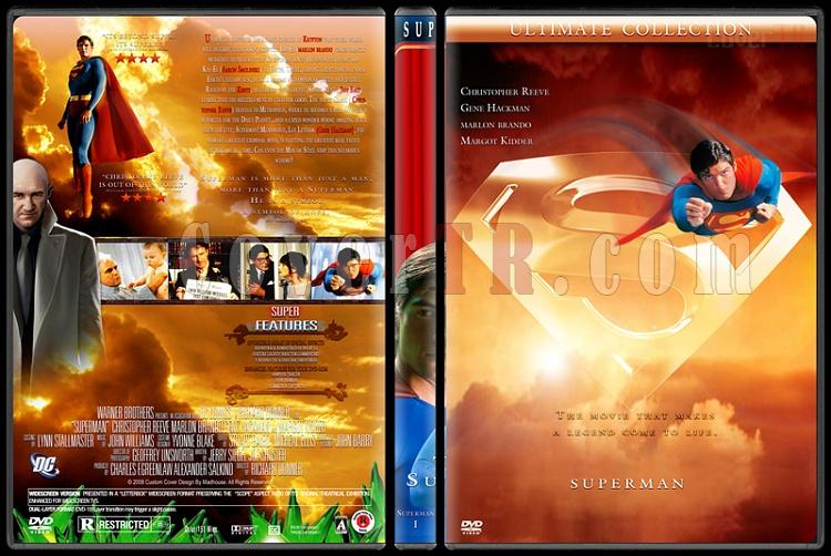 Superman Collection - Custom Dvd Cover Set - English [1978-2006]-superman-1jpg