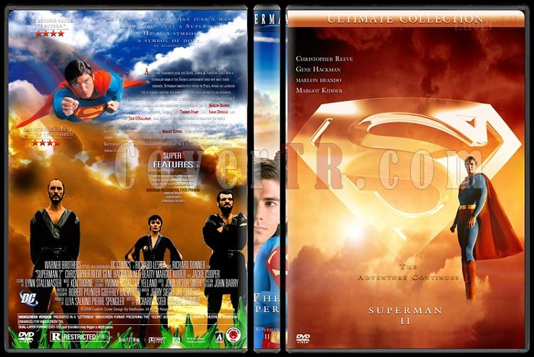 Superman Collection - Custom Dvd Cover Set - English [1978-2006]-superman-2jpg