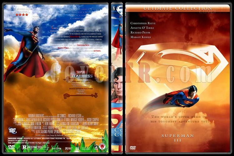 Superman Collection - Custom Dvd Cover Set - English [1978-2006]-superman-3jpg