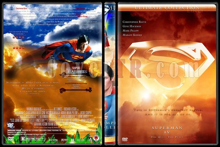 Superman Collection - Custom Dvd Cover Set - English [1978-2006]-superman-4jpg