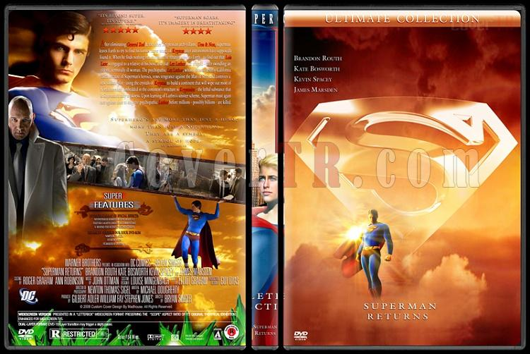 Superman Collection - Custom Dvd Cover Set - English [1978-2006]-superman-returnsjpg