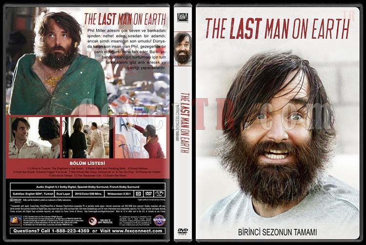 The Last Man on Earth (Sezon 1-2) - Custom Dvd Cover Set - Türkçe [2015-?]-1jpg