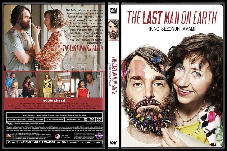 The Last Man on Earth (Sezon 1-2) - Custom Dvd Cover Set - Türkçe [2015-?]-2jpg