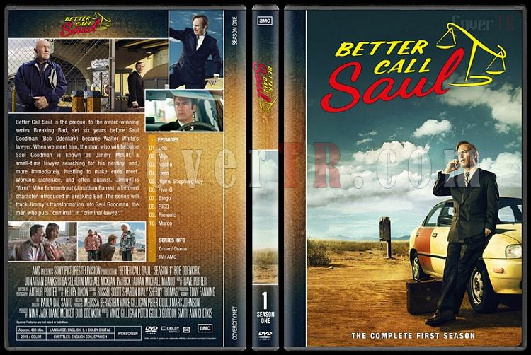 Better Call Saul (Season 1-3) - Custom Dvd Cover - English [2015-?]-1jpg