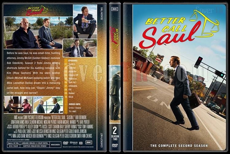 Better Call Saul (Season 1-3) - Custom Dvd Cover - English [2015-?]-2jpg