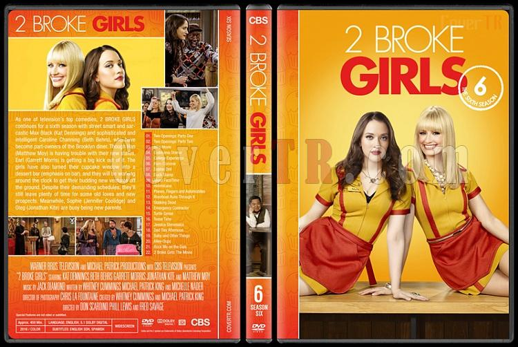2 Broke Girls (Seasons 1-6) - Custom Dvd Cover Set - English [2011-2017]-6jpg