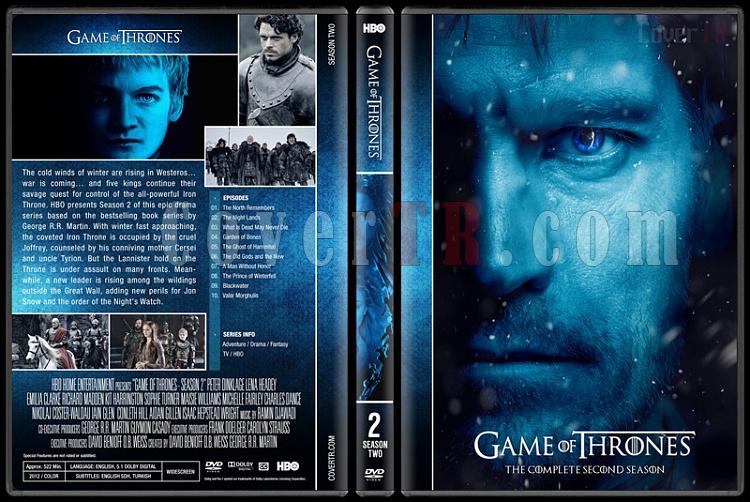 Game of Thrones (Seasons 1-7) - Custom Dvd Cover Set - English [2011-?]-2jpg
