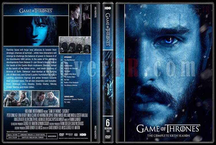 Game of Thrones (Seasons 1-7) - Custom Dvd Cover Set - English [2011-?]-6jpg