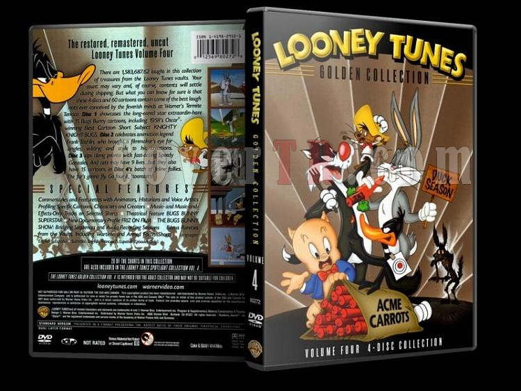 Looney Tunes (Golden Collection) - Costum Dvd Cover Set - English-4jpg