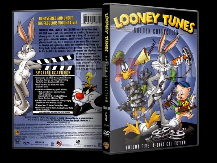 Looney Tunes (Golden Collection) - Costum Dvd Cover Set - English-5jpg