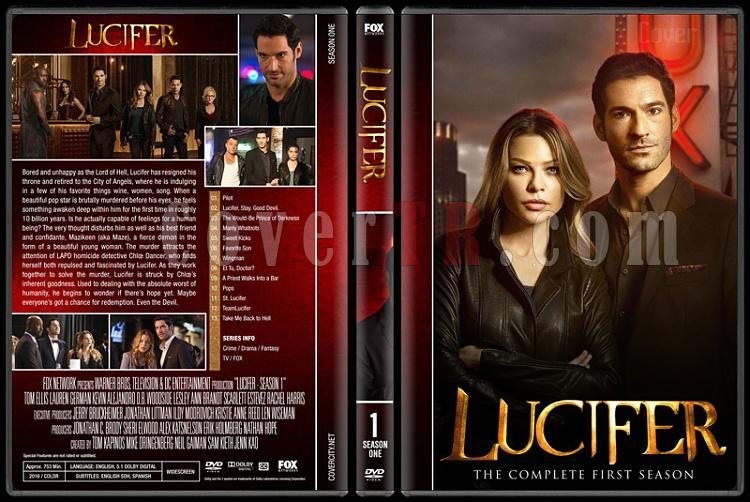 Lucifer (Seasons 1-2) - Custom Dvd Cover Set - English [2015-?]-1jpg