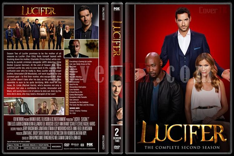 Lucifer (Seasons 1-2) - Custom Dvd Cover Set - English [2015-?]-2jpg