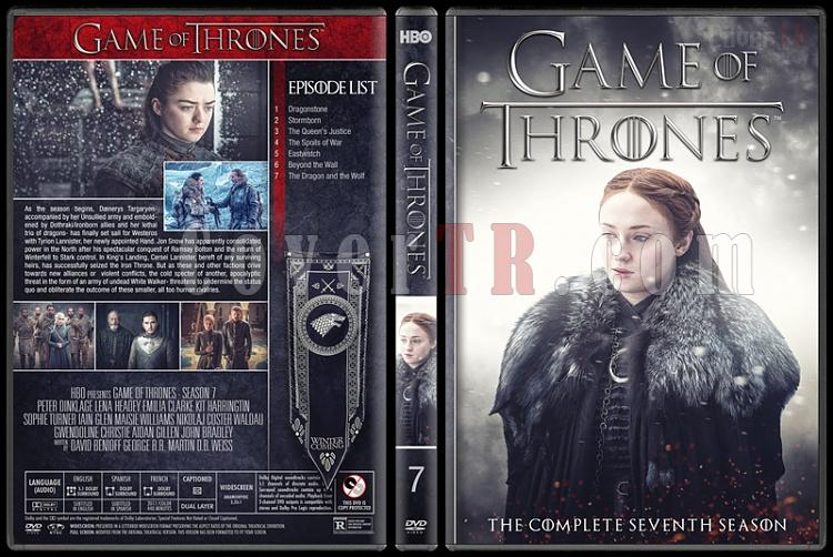 Game of Thrones (Seasons 1-8) - Custom Dvd Cover Set - English [2011-2018]-7jpg
