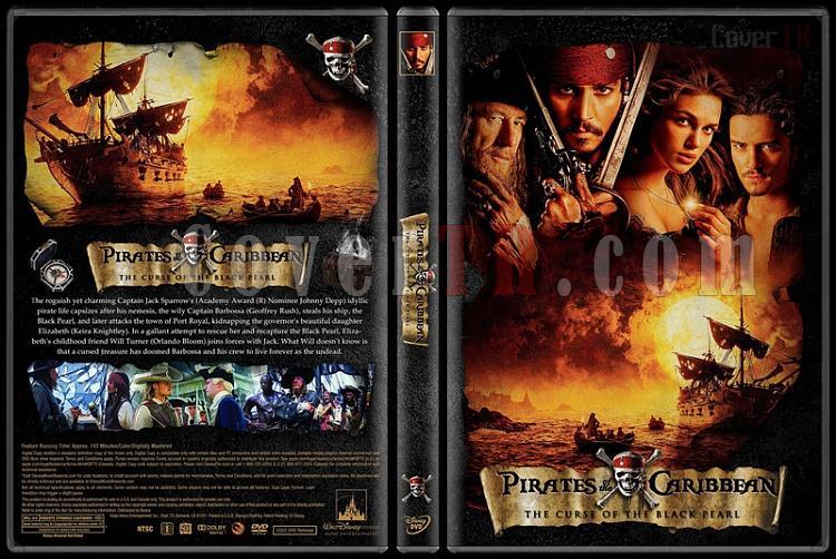 Pirates of the Caribbean Collection (Karayip Korsanları) - Custom Dvd Cover Set - English [2003-2017]-1jpg